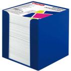 Cub hartie Herlitz 9X9X9cm cu suport albastru