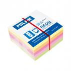 Cub notes cu adeziv Milan 5x5cm