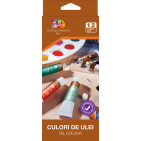 Culori ulei School Friendly 12 culori 12ml