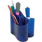 Suport instrumente de scris Ico Lux - Albastru