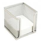 Suport cub hartie metalic Ecada - Argintiu