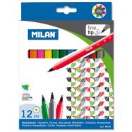 Carioci Milan 12 culori varf fin