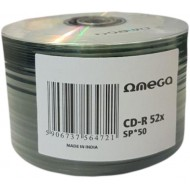Cd-R 700MB 52x 50buc/bulk Omega