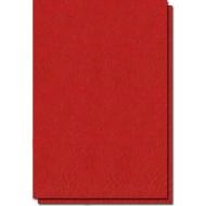 coperta carton imitatie piele rosu