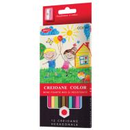 Creioane colorate Daco 12 culori