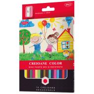 Creioane colorate Daco 18 culori