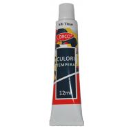 Culoare tempera 12ml Daco - Alb