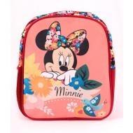 Ghiozdan gradinita floral Minnie Mouse