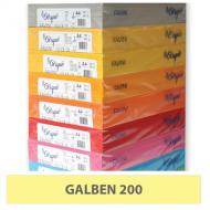 Hartie colorata A4 80g Favini 200 - galben