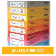 Hartie colorata A4 80g Favini 201 - galben auriu
