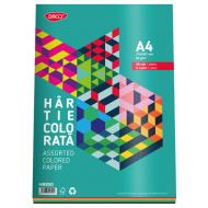 Hartie colorata asortata A4 80g 50 coli