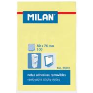 Notes autoadeziv 50x76mm Milan