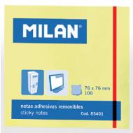 Notes autoadeziv 76x76mm Milan