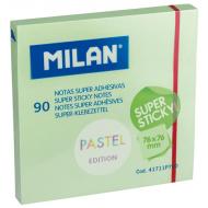 Notes autoadeziv 76x76mm Milan - verde pastel