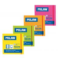 Notes autoadeziv neon 76x76mm Milan
