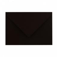 Plic colorat C6 120g/mp - negru 25buc/set