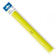 Rigla 30 cm flexibila Milan - galbena