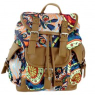 Rucsac Oxigen Canvas Vintage multicolor