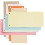 Separatoare carton 240 x 105mm - galben
