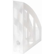Suport documente vertical Herlitz - Translucid