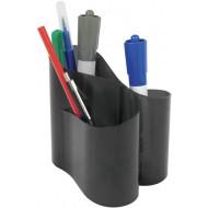 Suport instrumente de scris Ico Lux - Negru