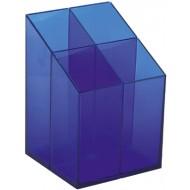 Suport instrumente de scris Ico Quadrate - Albastru