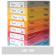 Carton colorat A4 160g Favini 109 - gri