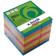 Cub hartie colorata 9 x 9 cm Herlitz 700 file 4 culori