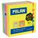 Cub notes cu adeziv Milan 76x76mm 6 culori