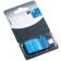 Index autoadeziv cu dispenser Info Flags 43x25mm - albastru
